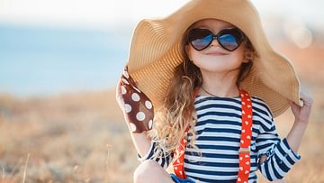 Friede, Freude, Sonnenschein. So bleibt auch Kinderhaut geschützt.