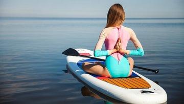 SUP-Yoga in der Schweiz