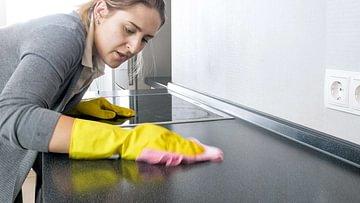 küchenarbeitsplatte flecken