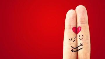 Liebe und Schönheit am Valentinstag