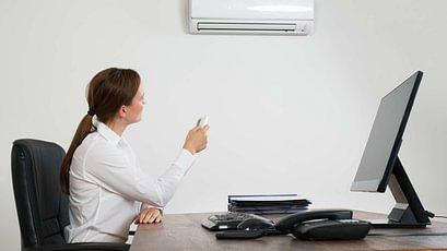 klimaanlage büro