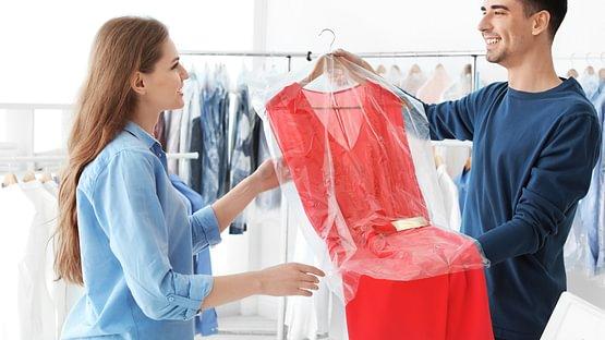 Textilien reinigen