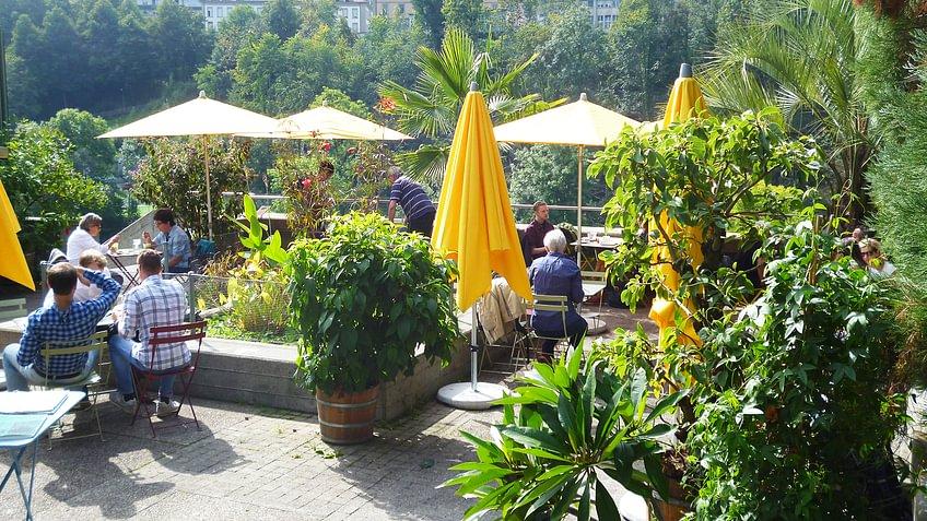 Fleuri Sommer Terrassengefühle Café Fleuri