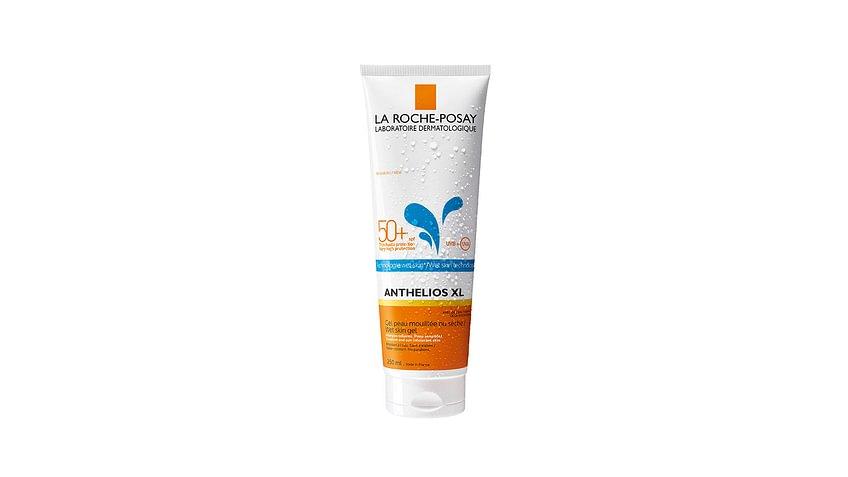 Kann auch auf nasser Haut aufgetragen werden:  La Roche-Posay Anthelios XL Wet Skin Technology SPF 50+ (250ml)