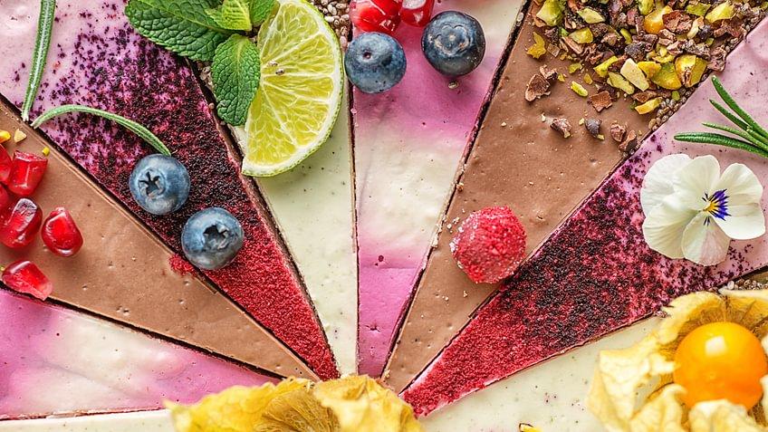 Vegane Kuchen kommen  zur Freude vieler Parties ganz ohne Butter und Eier aus.