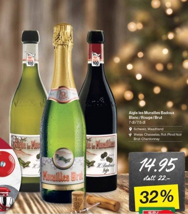 Weihnachts - Top Hit: 🍷🍸 Aigle Murailles 14.95
