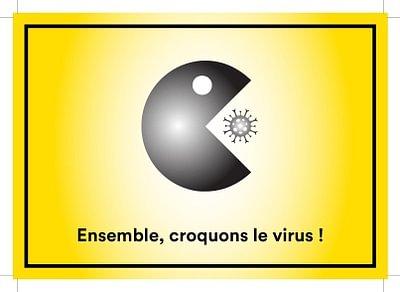 """""""Ensemble, croquons le virus !"""""""