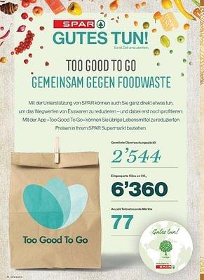 🌱 TooGoodToGo  Wir mit Dir gegen Food Waste 👍