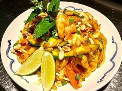 Actuellement au restaurant «Terroirs Thaïlandais»
